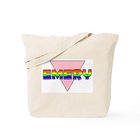 Emery Gay Pride (#002) Tote Bag