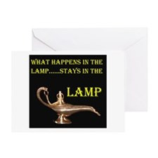 MAGIC LAMP Greeting Card