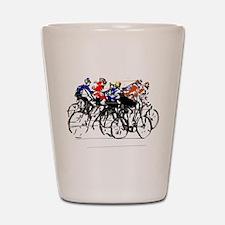 Tour de France Shot Glass