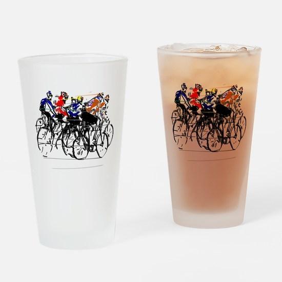 Tour de France Drinking Glass