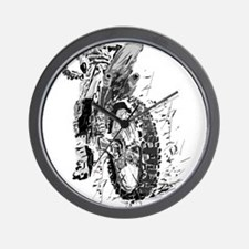 Motor Cross Wall Clock