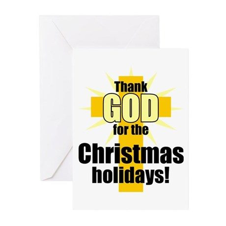 Thank God for Christmas Greeting Cards (Pk of 10)