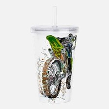 Motorcross Acrylic Double-wall Tumbler