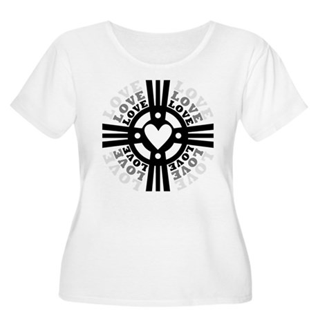 Cross of Love Women's Plus Size Scoop Neck T-Shirt