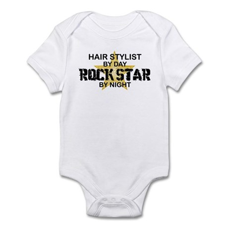 Hair Stylist Rock Star Infant Bodysuit