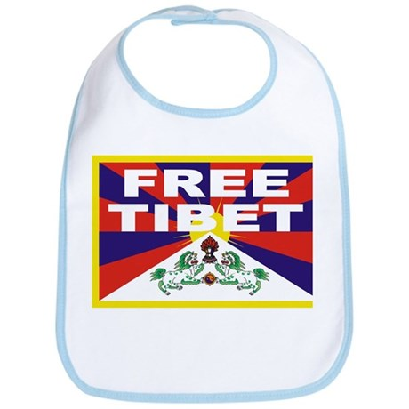 Free Tibet Bib