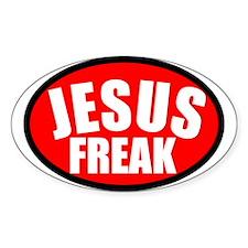 Jesus Freak Oval Decal