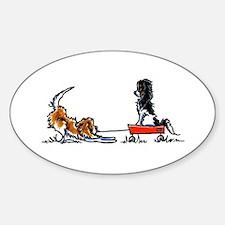 Wagon Buddies Sticker (Oval)