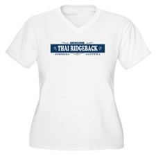 THAI RIDGEBACK Womes Plus-Size V-Neck T-Shirt