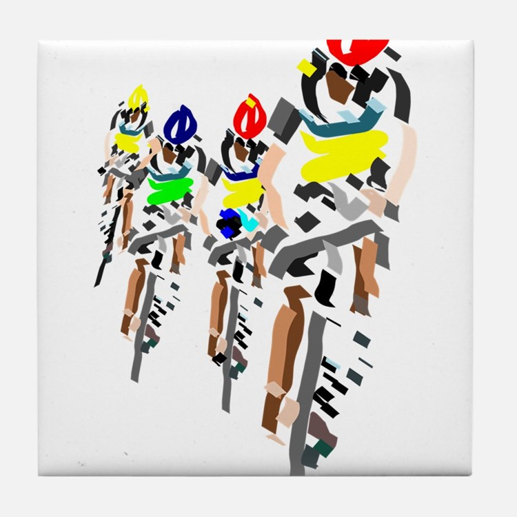 Bikers Tile Coaster