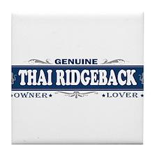 THAI RIDGEBACK Tile Coaster