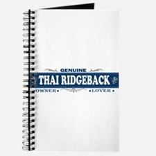 THAI RIDGEBACK Journal