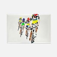 Cyclists Magnets
