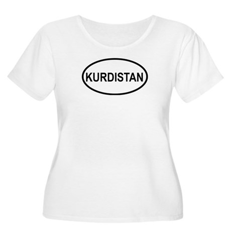 Kurdistan Women's Plus Size Scoop Neck T-Shirt