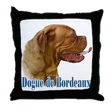 Dogue Name Throw Pillow