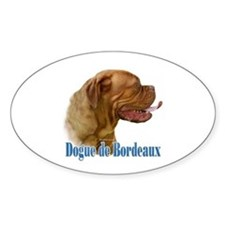 Dogue Name Oval Decal