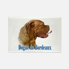 Dogue Name Rectangle Magnet