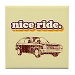 Nice Ride Tile Coaster
