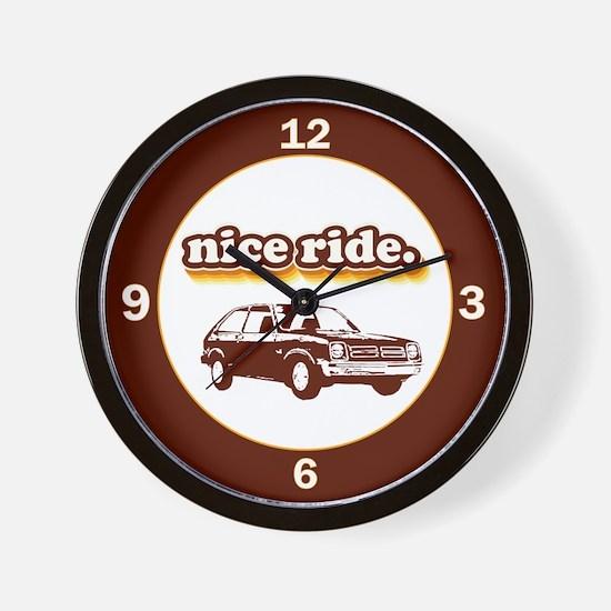 Nice Ride Wall Clock