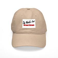 """""""The World's Best Great Gram"""" Baseball Cap"""