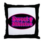 Sweet Niblets! Throw Pillow