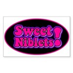 Sweet Niblets! Rectangle Sticker