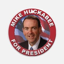 Mike Huckabee for President Ornament (Round)