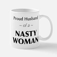 Husband of a Nasty Woman Mugs