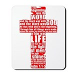 In the Beginning Mousepad