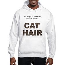 Cat Hair Hooded Sweatshirt