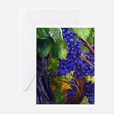 Carigane Grapes Greeting Cards