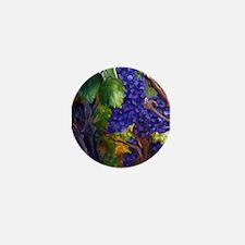 Carigane Grapes Mini Button