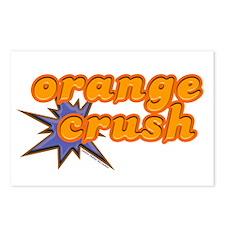 Orange Crush Postcards (Package of 8)