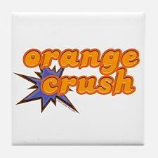 Orange Crush Tile Coaster