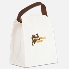 i love crazy horse Canvas Lunch Bag