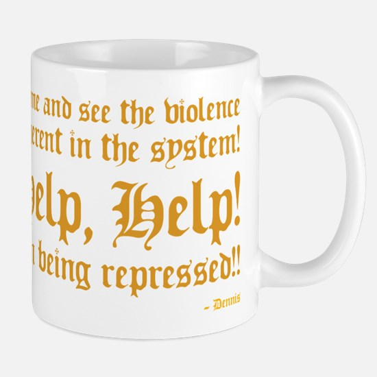 Python Help, Help I'm Being Repressed Mugs