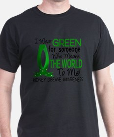 Means World To Me 1 Kidney Disease Shirts T-Shirt