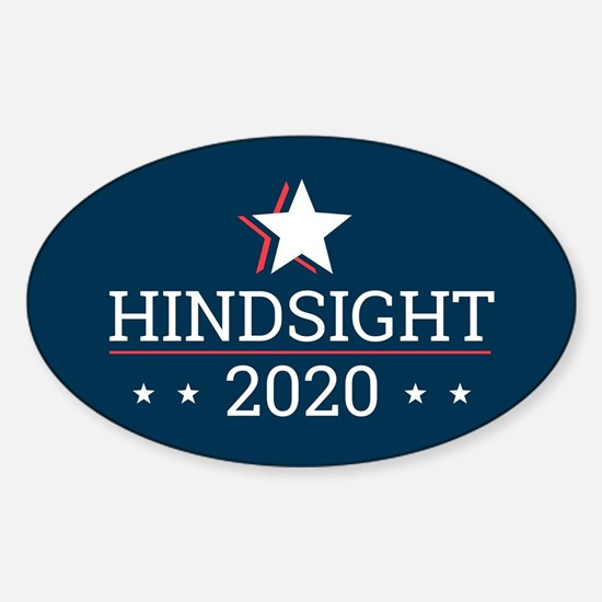 Hindsight 2020 Election Campaign - Rectang Bumper Stickers