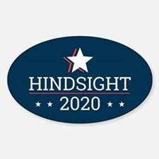 Hindsight 2020 Election Campaign - Rectang Decal