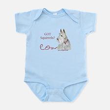 Wheatie Scottie Squirrels Infant Bodysuit