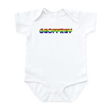 Geoffrey Gay Pride (#004) Infant Bodysuit