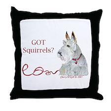 Wheaten Scottish Terrier Throw Pillow