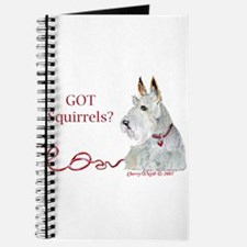 Wheatie Scottie Squirrels Journal