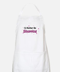 I'd Rather Be Shopping BBQ Apron