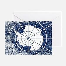 Unique Antarctica Greeting Card