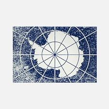 Cute Antarctic flag Rectangle Magnet