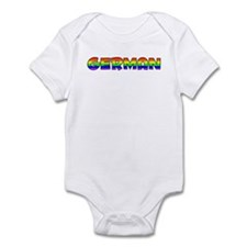 German Gay Pride (#004) Infant Bodysuit
