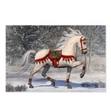 Christmas unicorn Postcards