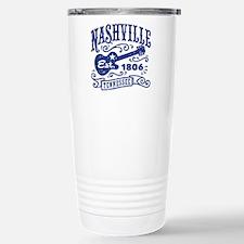Nashville Tennessee Stainless Steel Travel Mug