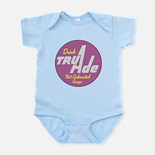 TruAde Grape Beverage Logo Body Suit